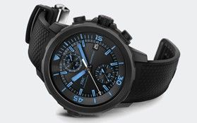 """IWC Aquatimer Chronograph Edition """"50 Years Science for Galapagos"""" with a Street Price of $9,999.00"""