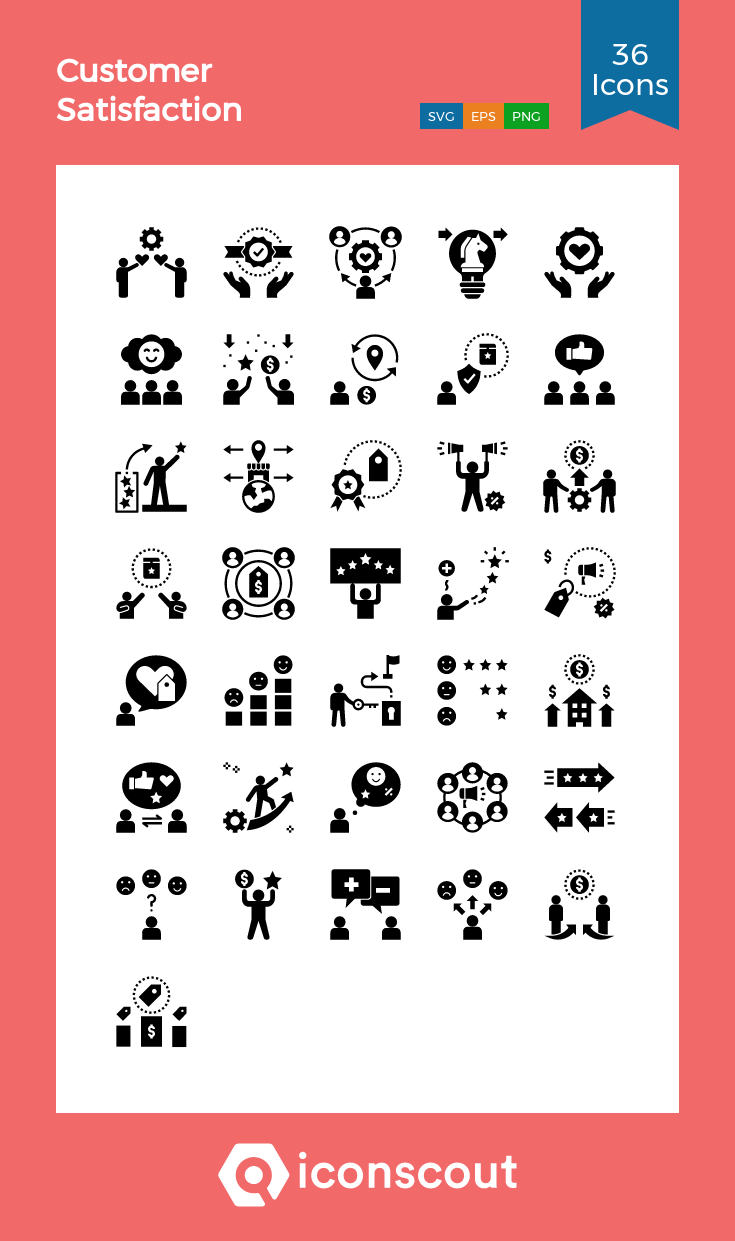 Download Customer Satisfaction Icon Pack Available In Svg Png Eps Ai Icon Fonts