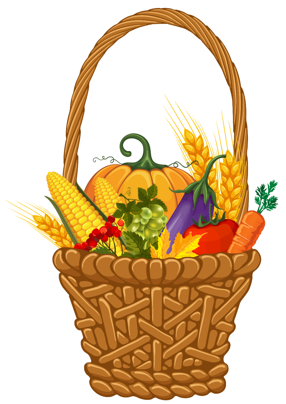 Christmas Food Baskets for the Needy Clip Art in 2020 ...
