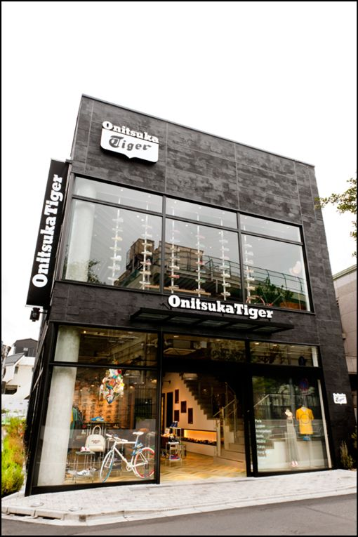 on sale f2d06 68ab2 tokyo: onitsuka tiger flagship store opening | Facades ...