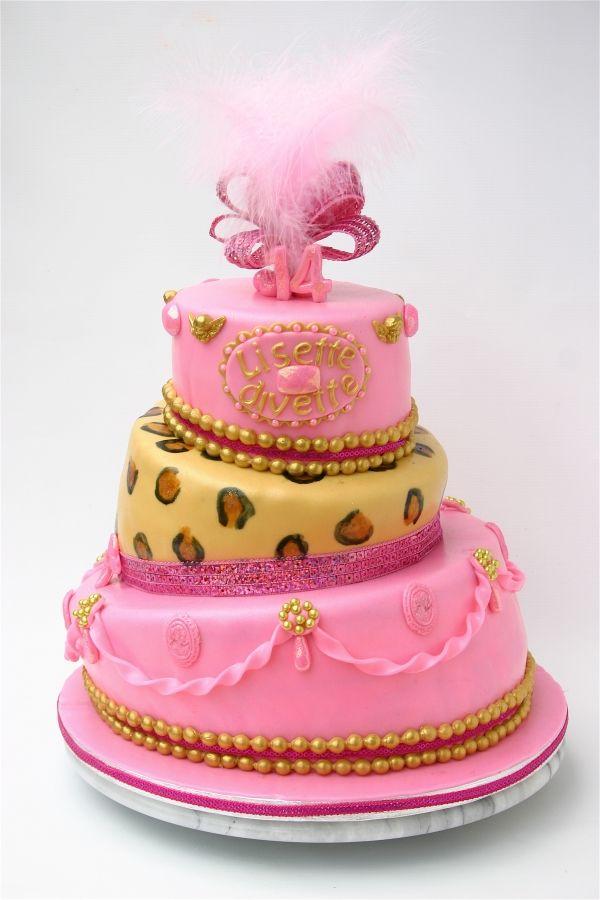 KatieSheaDesign Cakes Little Diva Birthday Cake