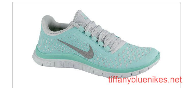 check out c5120 7155a Womens Nike Free 3.0 V4 Tiffany Blue Reflective Silver Pure ...
