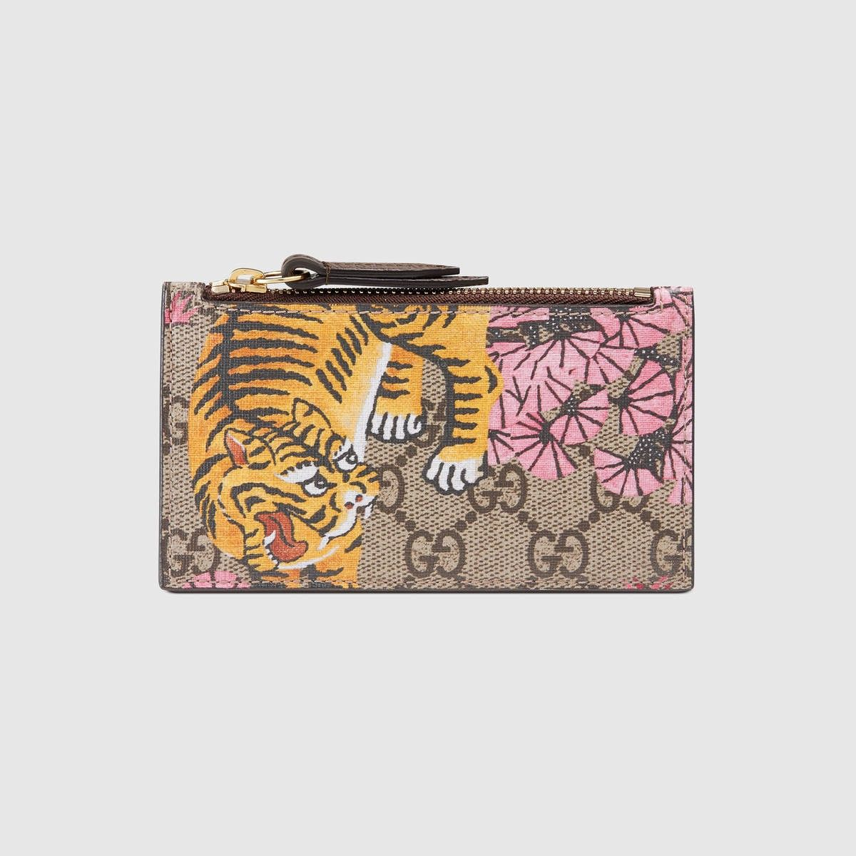 GUCCI Gucci Bengal Card Case - Gg Supreme. #gucci #bags #leather ...