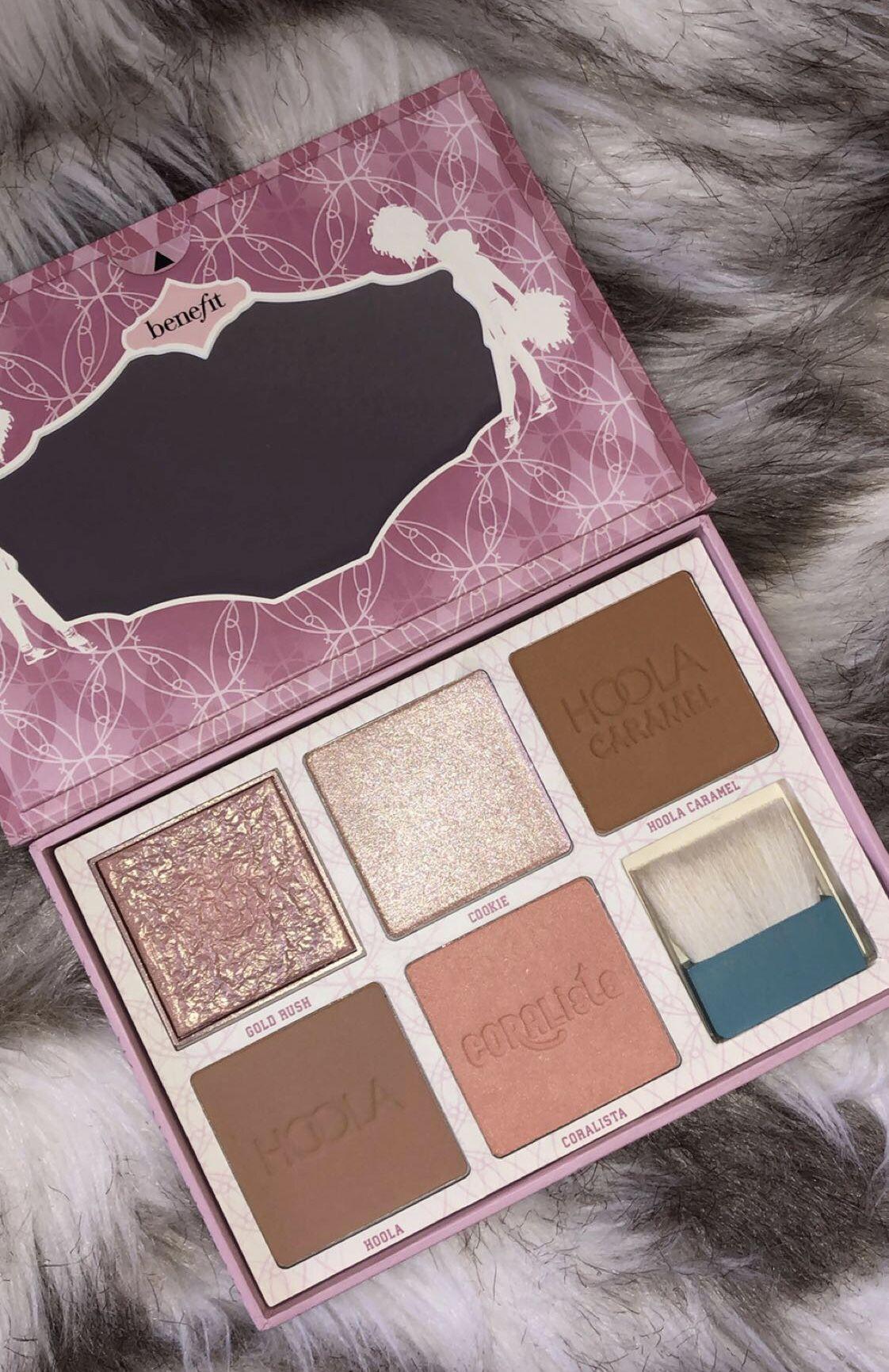 Benefit Cosmetics blush bronzer and highlight palette