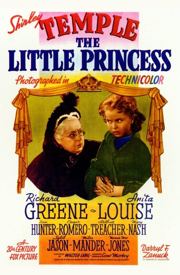 The Little Princess 1939 Shirley Temple Color Dvd Shirley Temple Princess Movies Movie Posters