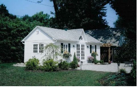 Pin By Katherine Eisenhut On Guest House Cottage Kits Colonial Cottage Prefab Cabin Kits