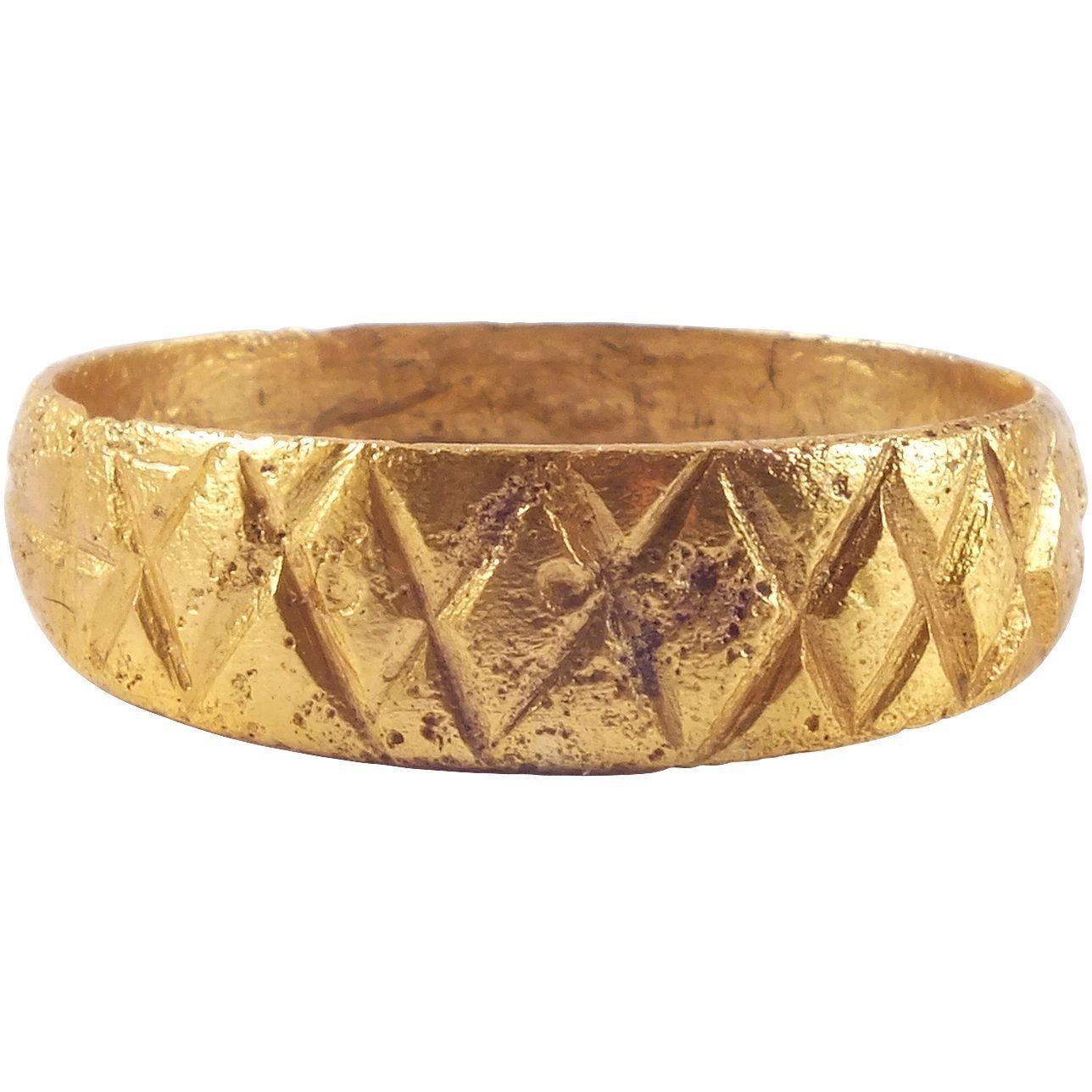 ANCIENT VIKING MAN'S WEDDING RING C.8501050 AD (con