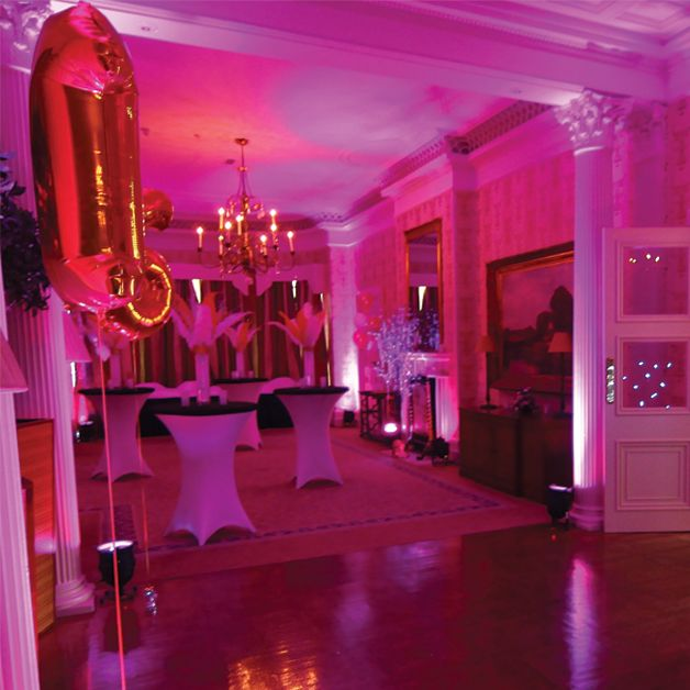 16th birthday party ideas by mgn events sweet 16 party for 16th birthday decoration ideas