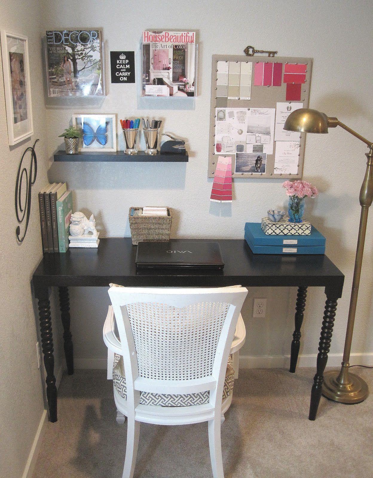 Basement Study Room: Basement Reno: Office Nook