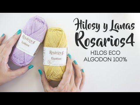 Hilos y lana para amigurumi y crochet- Algodones Rosários4 - YouTube ...