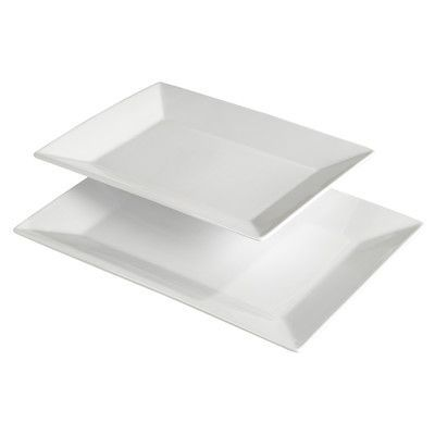 Porcelain serving platters are a solid find for parties and gatherings. | $29