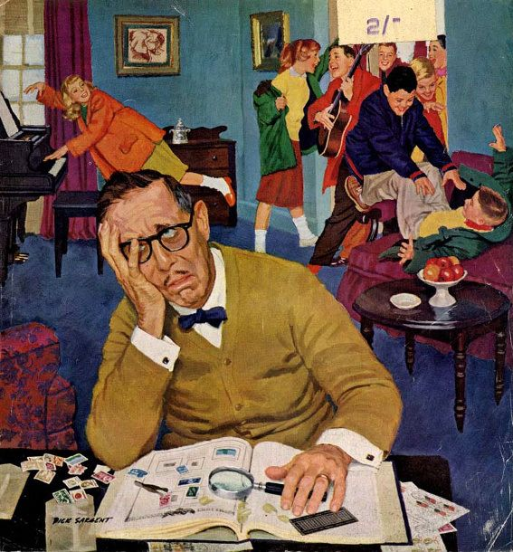 No Quiet For Daddyo - Dick Sargent