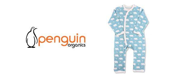Penguin Organics Footies /& Rompers Hippo Footie