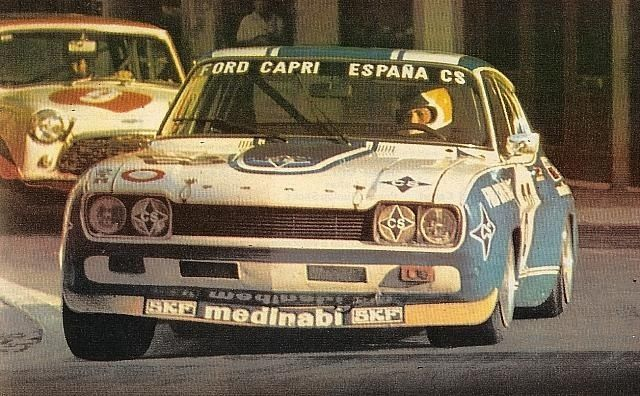 Jorge De Bagration Touring Car Racing In Portugal 1973 Ford Gt
