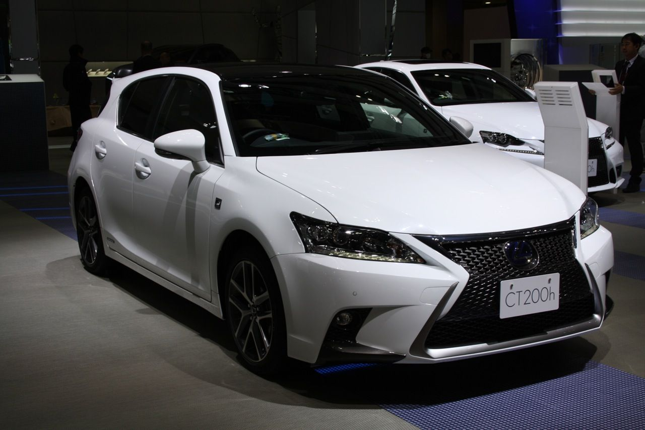 Carscoops lexus ct 200h posts hot hatch pinterest lexus ct200h cars auto and cars