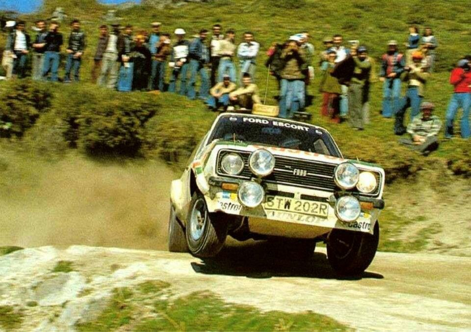 1978 Rally De Portugal Hannu Mikkola Ford Scort Rs 1800 Mkii