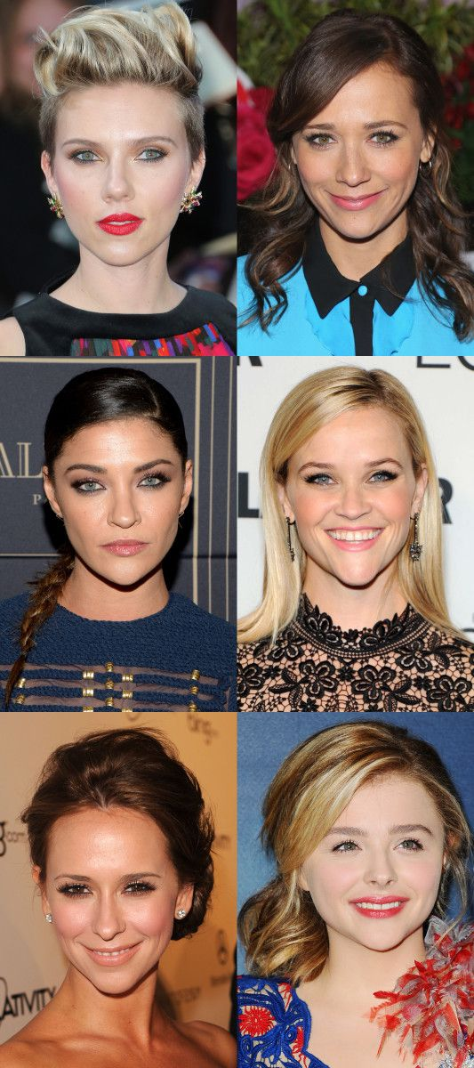 Celebrity Examples Of The Inverted Triangle Face Shape Face