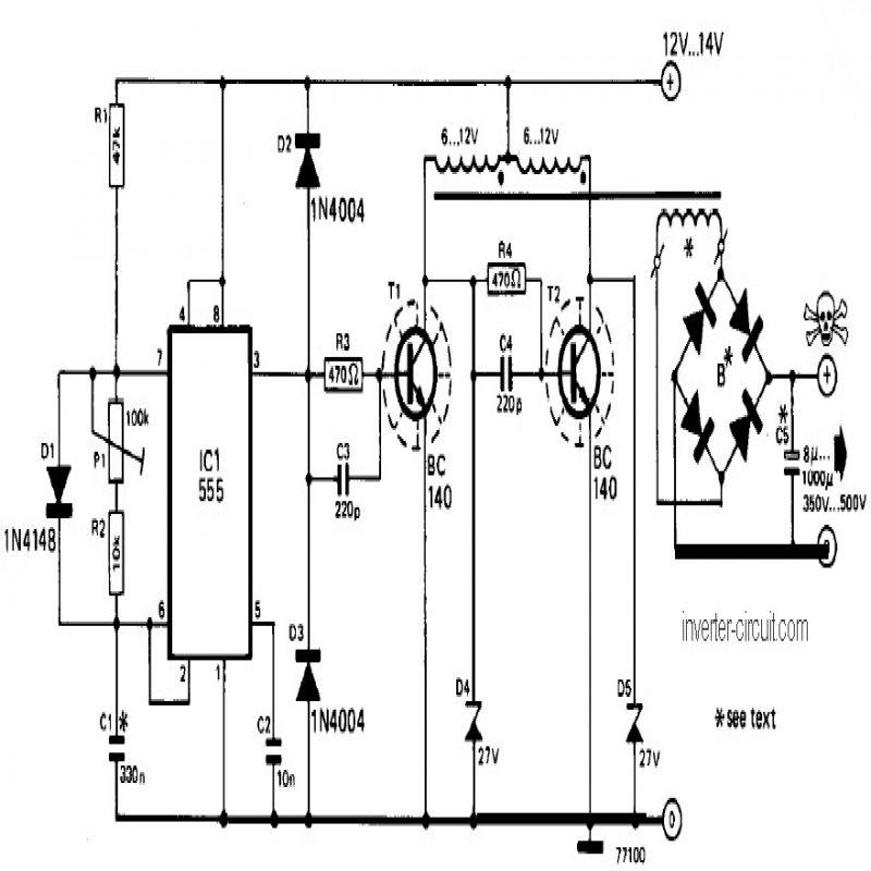 12v Dc To Ac Inverter Circuit Diagram Circuit Diagram