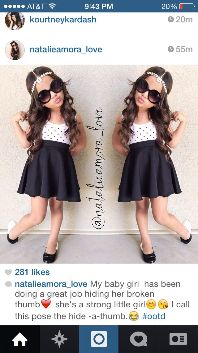 a1857daab Toddler Girl Clothing: Black little girl skater skirt | My future ...
