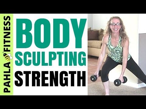 Straight Up STRENGTH TRAINING   30 Minute Body-Sculpting DUMBBELL Workout to TONE + STRENGTHEN • Pahla B Fitness