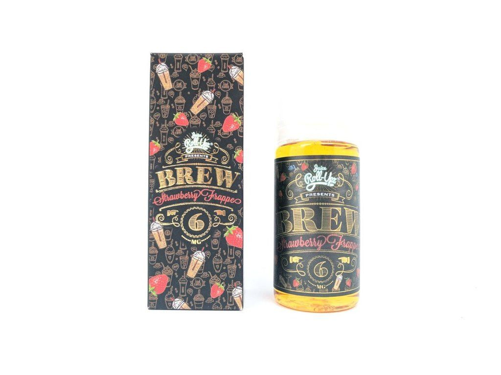 Strawberry Brew Frappe Juice Roll Upz E Liquid Pinterest Vaporizer Frosty Vape Vaping Eliquid