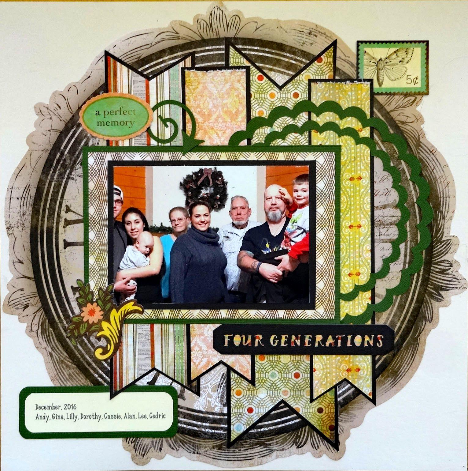 A Perfect Memory - BasicGrey - Curio Collection + Bo Bunny - Timepiece Collection Clockwork