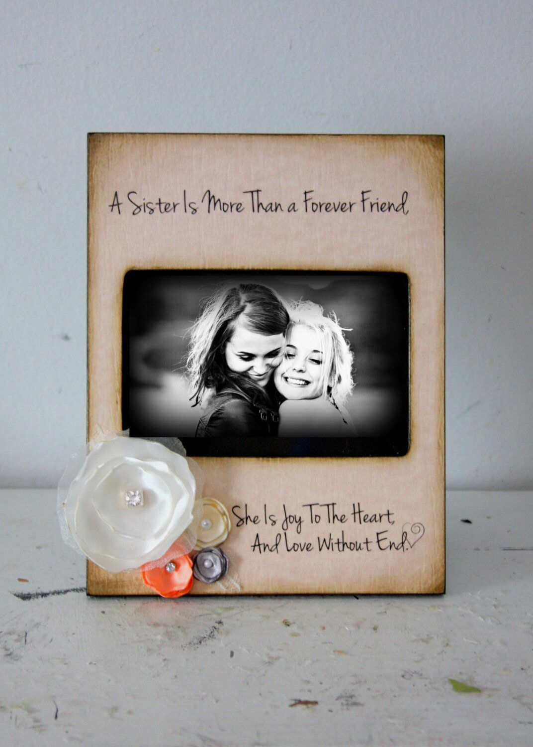 A sister is more than a forever friend gifts for friends