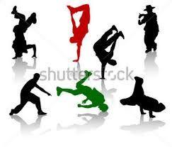 Resultado de imagen para dibujos de bailarines de hip hop  Papel