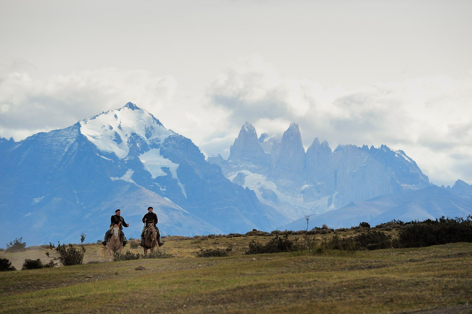 With impressive views of the little-known Sierra Baguales, 1920s décor, and the therapeutic emptiness of the Patagonian pampa, guests come here to escape, unwind, and experience a feeling of freedom thanks to adventurous horse rides with their friendly handlers.        - ELLE.com