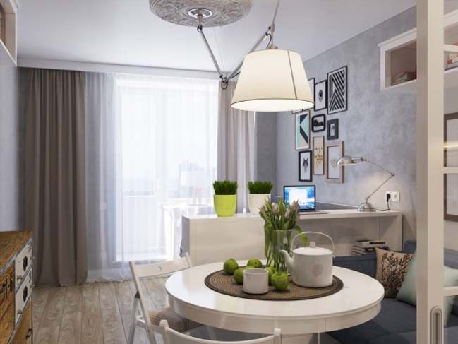 Small apartment 25sqm in st petersburg