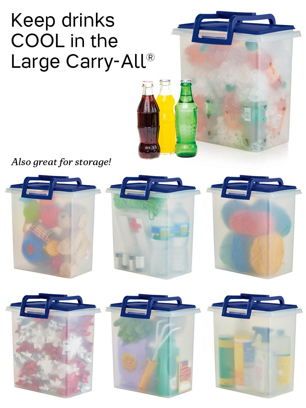 Tupperware Large Carry All Container So Many Uses For This Handy Container You Ll Need More Than One Great For Tupperware Tupperware Storage Tupperware Bowls