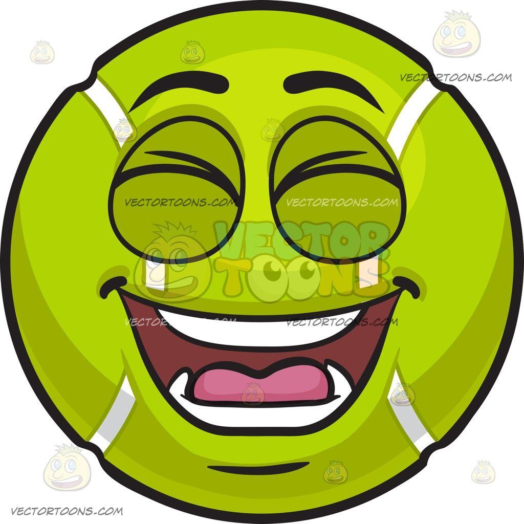 A Laughing Tennis Ball Tennis Ball Ball Bouncy Ball