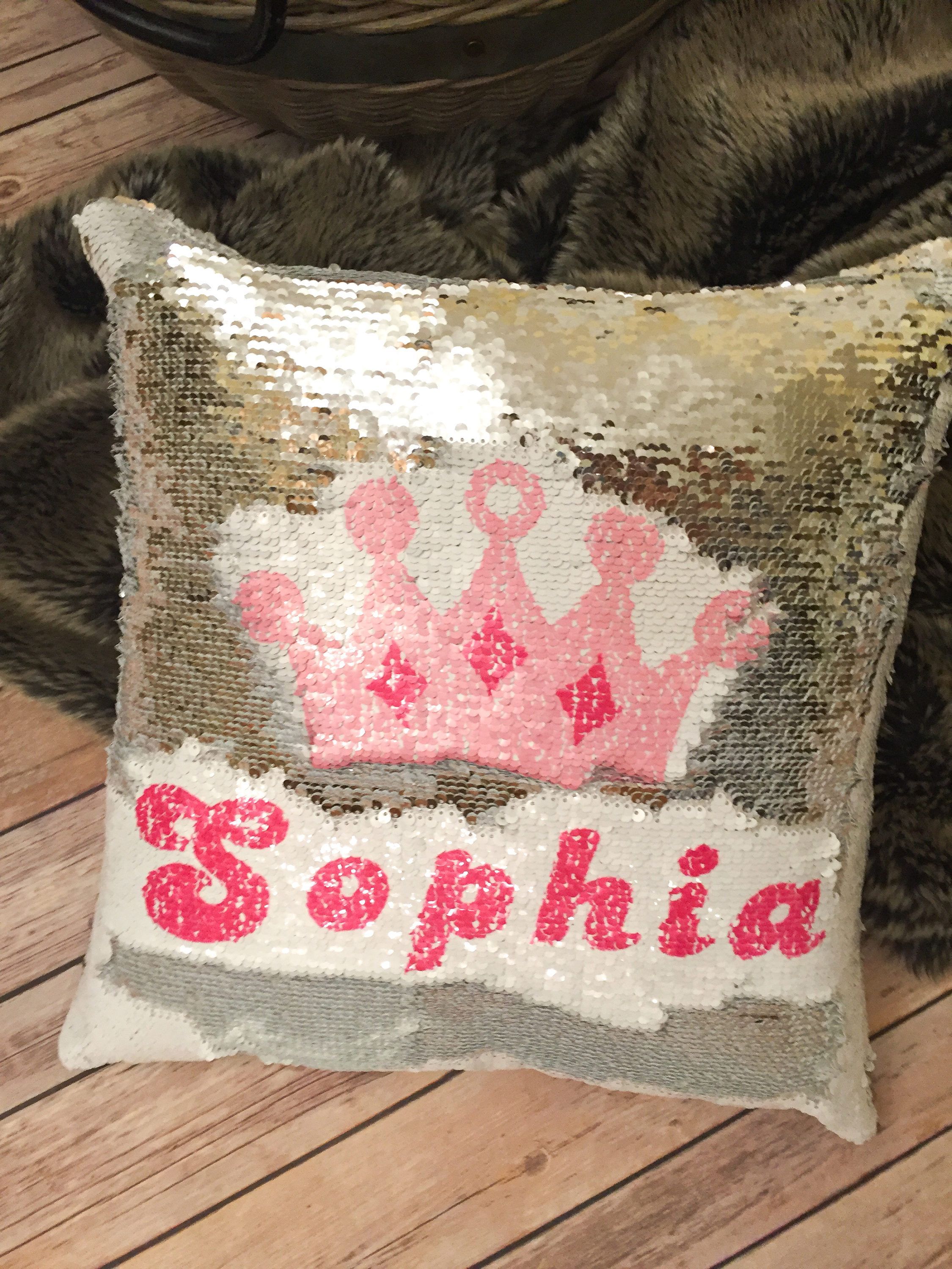 gifts cushion christinas personalised unicorn pillow magic a make product wish
