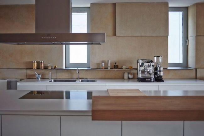 Wohnung In Grau Style - homeautodesign.com -