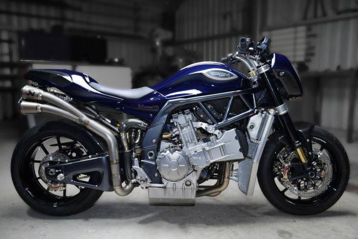 Pgm V8 2000cc Australian Motorcycle Motorcycle Engine Bike