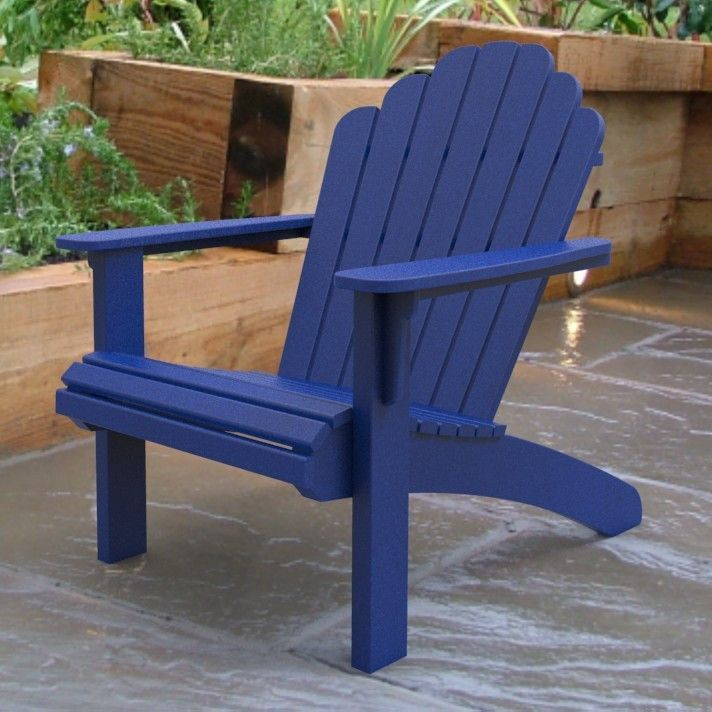 Malibu Outdoor Living Recycled Plastic Hampton Adirondack Chair | Products