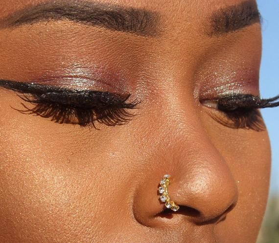 Photo of Diamond Nose Ring-Nose Ring-Nose Stud-Nose Stud-Nose Jewelry-Diamond Nose Stud-Nose Piercing-Gold Nose Ring-Piercing-Nose-Body Jewelry