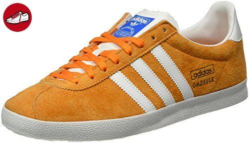 ecd3be1e0625 adidas Gazelle OG, Herren Sneakers, Orange (Bright Orange Ftwr White Bright