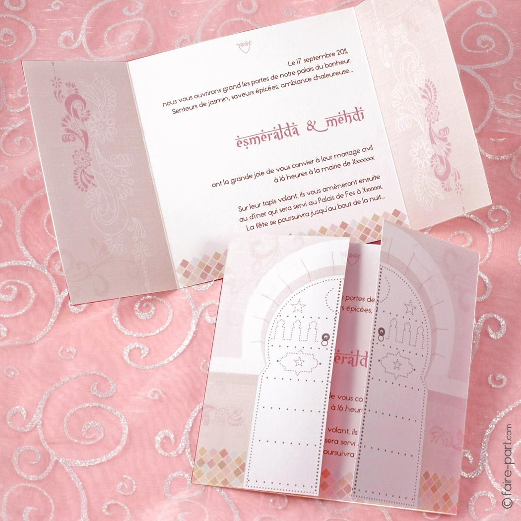 pinterest the worlds catalog of ideas - Carte D Invitation Mariage Orientale