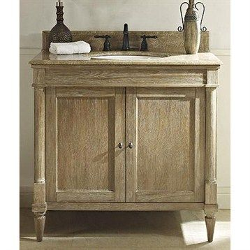 Fairmont Designs Rustic Chic 36 Vanity Weathered Oak