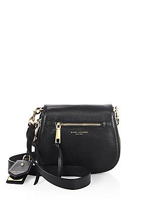 2888c1ee32af Marc Jacobs Recruit Small Leather Saddle Crossbody Bag