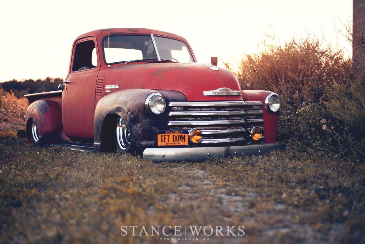 Pickup 48 chevy pickup parts : chevy-pickup-bagged-old | transportation appreciation. | Pinterest ...