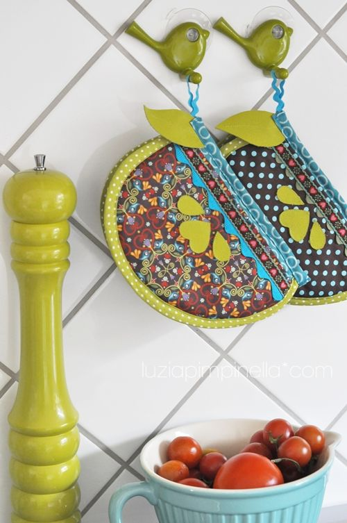 handmade potholders (eBook \