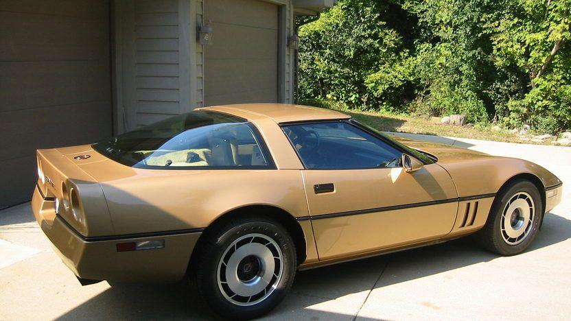 1985 Chevrolet Corvette Coupe S8 Bloomington Gold 2013 Chevrolet Corvette Corvette Chevrolet Corvette C4