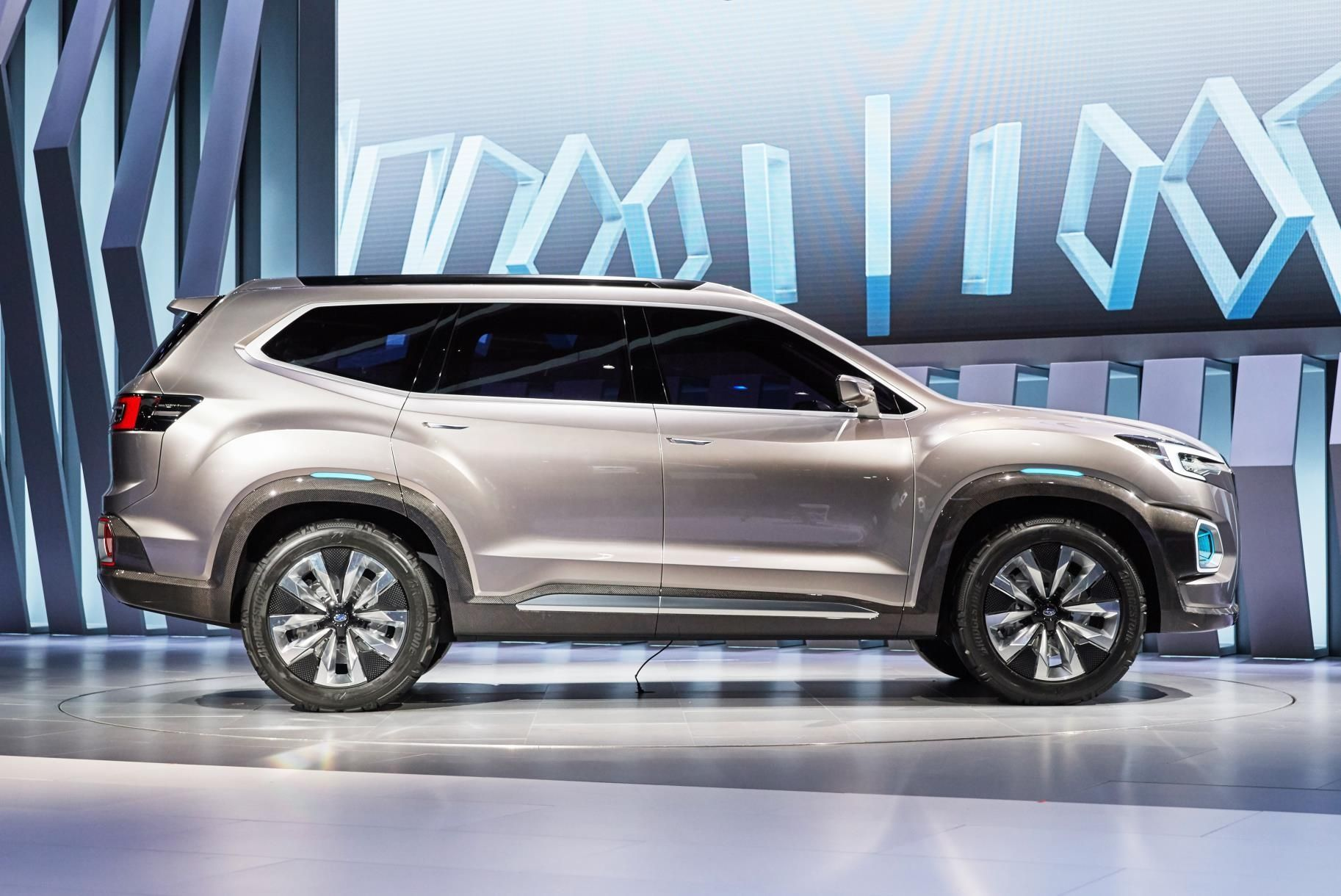 2019 Subaru Tribeca Mid Size 7 Seat Suv Previewedviziv Throughout Exterior