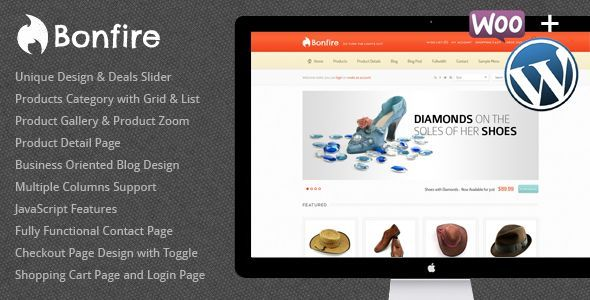 Bonfire - WordPress eCommerce Theme... ** Have a look at even more ...