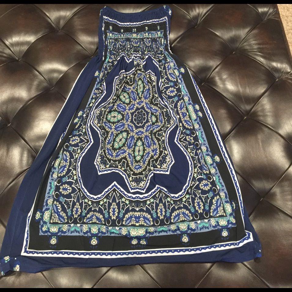 Bandeau Elastic Top Dress
