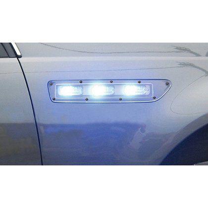 Code 3 Side Marker Lights Chevrolet Caprice T Rex Led Lightheads The New Caprice 2011 2012 Flush Mount Side Mar Chevrolet Caprice Emergency Lighting Lights