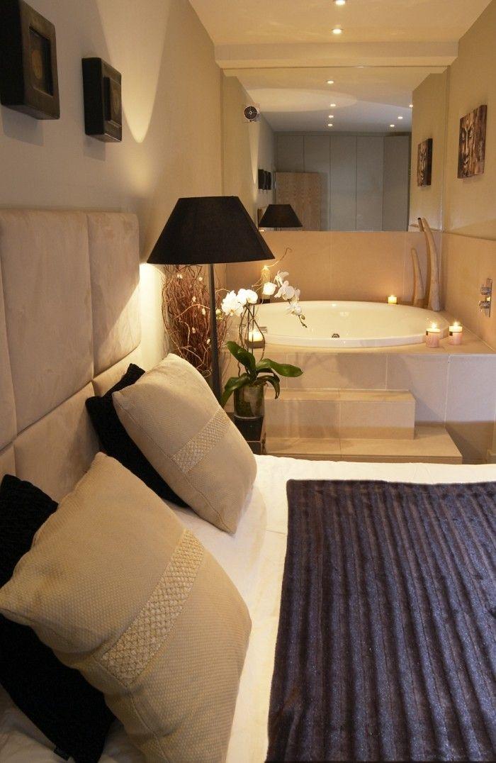 Belle Chambre Avec Jacuzzi Privatif 40 Idees Romantiques Archzine Fr Deco Chambre Parentale Romantique Deco Chambre Belle Chambre