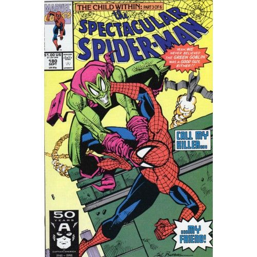 SPECTACULAR SPIDER-MAN #180 | Marvel Comics | Green Goblin | 1976-1998,2011 | VOLUME 1